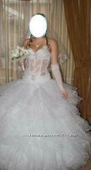 Современное свадебное платье
