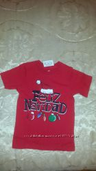 Новогодняя футболка The Childrens Place р. 3Т - со скидкой
