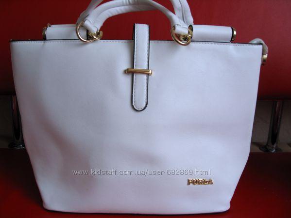 Черная сумка Stacy FURLA - aizelru