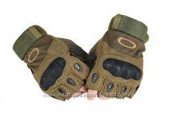 Безпалые тактические перчатки OAKLEY