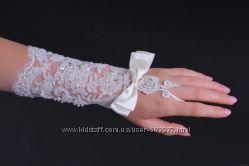 Свадебные перчатки - новые