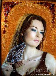 Портрет из янтаря по Вышему фото