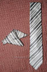 Комплект галстук и платок