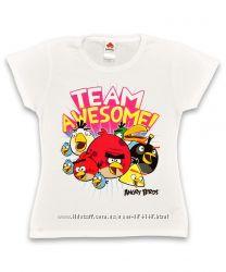 Футболки Angry Birds Ангри бердс, Sicem International Италия, 13 лет