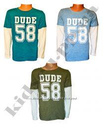 Регланы для мальчиков Next, на 2-8 лет, футболки с длинным рукавом Некст