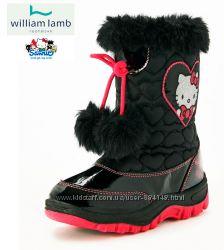 Сапоги детские сноубутсы Хелло Китти Hello Kitty, бренд William Lamb Англия