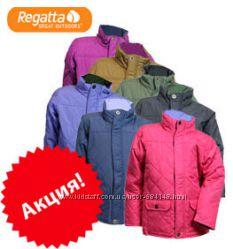 Курточки демисезонные весна, осень стеганные детские, бренд Regatta