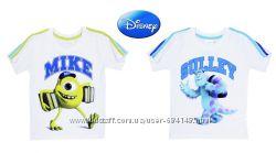 Футболки детские белые Университет монстров, Майк и Салли, бренд Disney