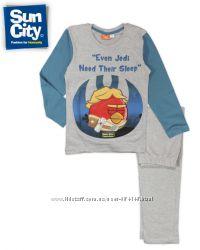 Пижамы Энгри Бердс - Звездные войны на 7-10 лет, бренд Sun City Франция