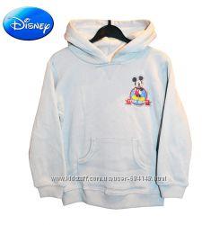 Толстовка начес с капюшоном на 5 лет серая Микки Маус, Disney США
