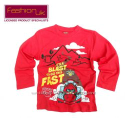 Реглан футболка длинный рукав от 5 до 9 лет Angry Birds, Fashion UK Англия