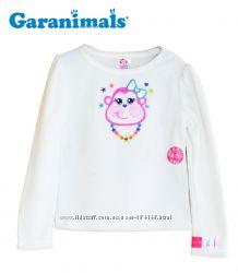 Флиска кофта реглан на 5-6 лет белая, Garanimals Америка