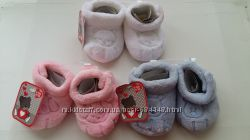Пинетки тапочки носки детские махра на 6-12 месяцев Франция