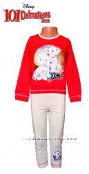 Пижама для девочек 101 далматинец детская хлопковая, Disney оригинал Дисней