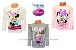 Регланы, лонгсливы детские для девочек Мини Маус Дисней Disney TVMANIA