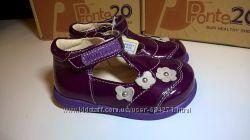 Акция р. 22, 23 D. D. Step Ponte 20 Ортопедические кожаные туфли.