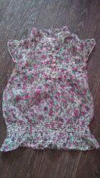 шифоновая блуза для девочки