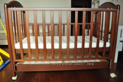 Детская кроватка Baby Italia Euro и матрас Herbal Kids