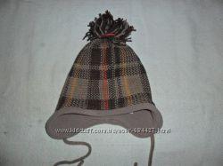 двойная зимняя шапочка р. 49