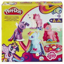 Плей-Дох Игровой набор Создай любимую Пони Play-Doh B0009