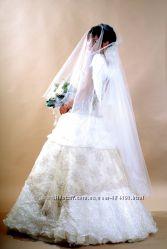 Очень нежное свадебное платье в идеальном состоянии.