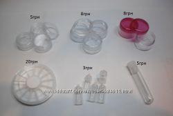 Пустые баночки для материалов ногтевого сервиса