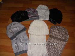 Шапки комплекты шарфы