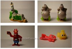 Игрушки из Киндер-сюрприза