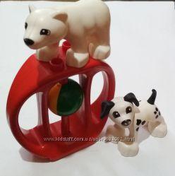 LEGO DUPLO фигурки животных, погремушка