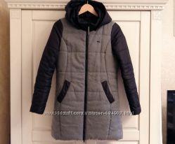 Стильное пальто-пуховик Reserved еврозима