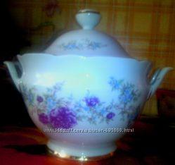 Супницы Коростень, советский фарфор