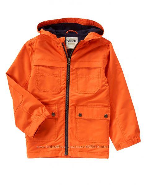 Куртки деми, ветровки GYMBOREE р. S на 4-6 лет на флисе и джерси