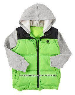 Куртка-жилетка на весну CRAZY8 на 5-6 лет Америка