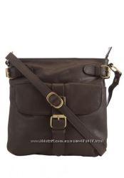 Новая кожаная сумка F&F Англия Cross-Body 2цвета