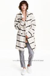 Пальто бойфренд H&M LOGG размер EUR44  UK18
