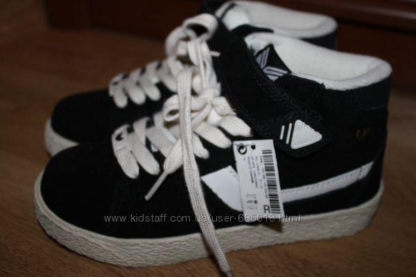 Замшевые ботинки хайтопы Некст NEXT UK12