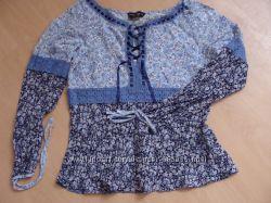 Летняя блуза в деревенском стиле