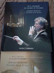Подарочный набор дисков и книга для музыканта Моцарт