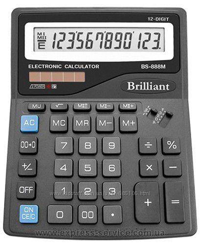 Новый калькулятор Brilliant BS-888M, можно на подарок