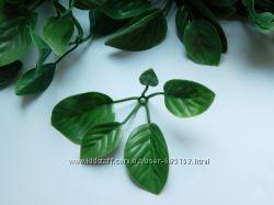 Искусственные листья для декора