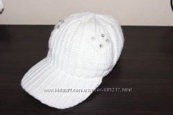 Крутая вязанная кепка-шапка. Новая.