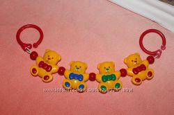 Подвесная игрушка Растяжка TOLO Мишки