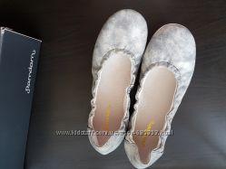 Испанские балетки Ramdam, кожа