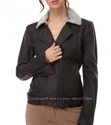 Модная кожанная курточка - авиатор  Twin Set, размер S