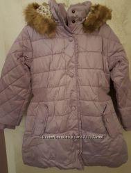 Новая зимняя удлиненная курточка Chicco 92 р.