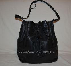 кожаная сумка Mango, оригинал