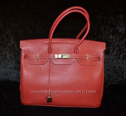 красная кожаная сумка Hermes, 2500 грн. Женские сумки купить ... 0d43511cdf6