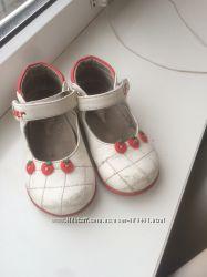 Туфли белые little deer 25 размер 15 см
