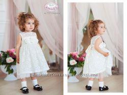 Пышное кружевное платье, с фатиновым подъюбником, Baby Angel 98-110