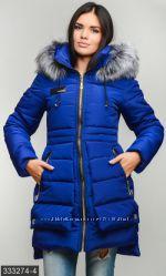 Куртка зима силикон р. 42-48 разные цвета